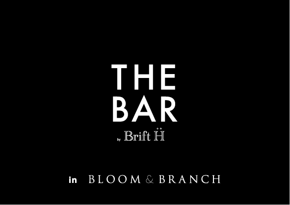 THE BAR Brift H in BLOOM&BRANCH