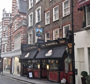 The Windmill - Mayfair, London W1.