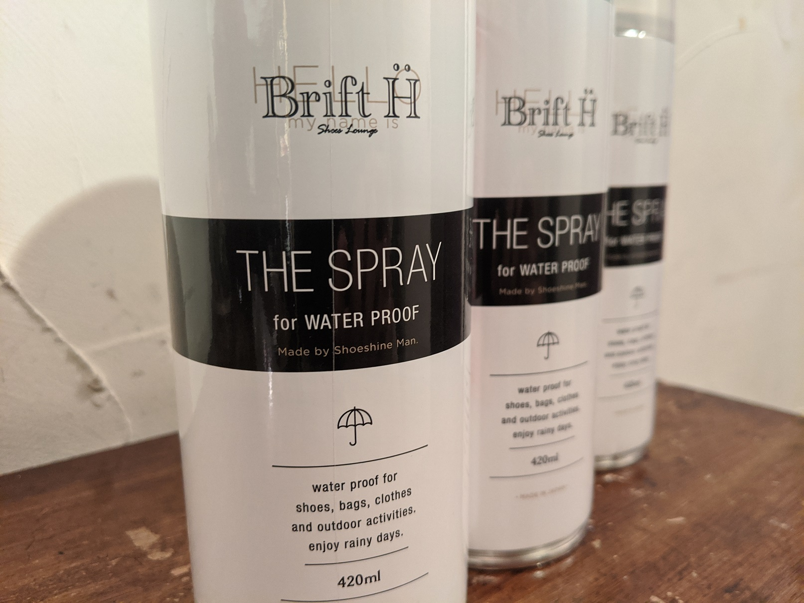 THE SPRAY